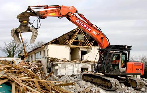 IZGRADNJA MARINKOVIĆ d.o.o., Rušenje kuće, objekata