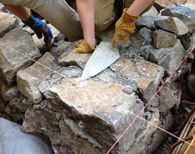 KEOPS DUBROVNIK d.o.o., Postavljanje kamena