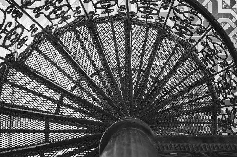 Unutarnje i vanjske metalne stepenice