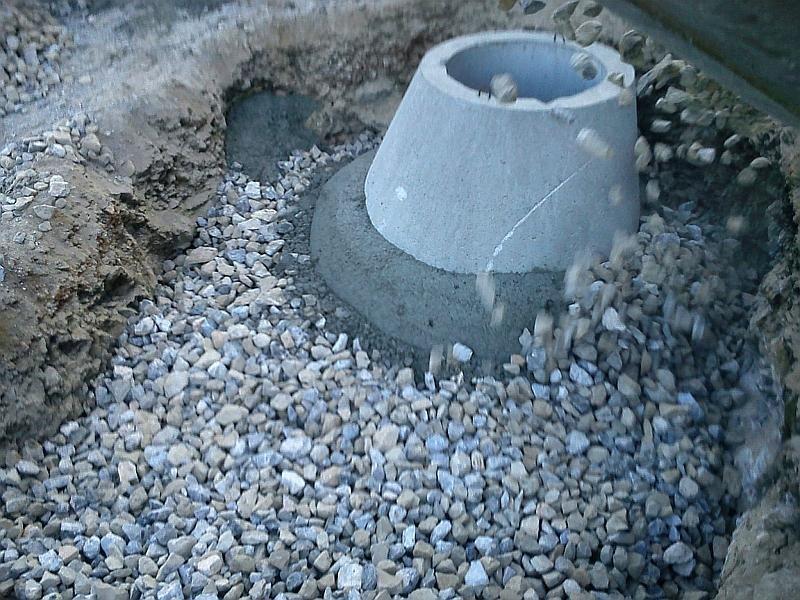Betonska cijev za oborinske vode: septička jama, cijena drenaže dvorišta