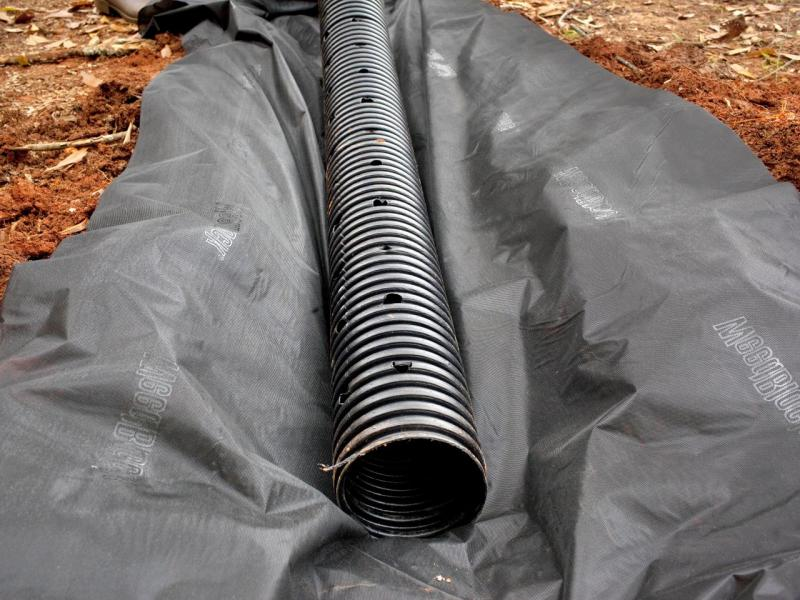 Drenaža oko kuće - cijena za drenažne cijevi i pravilna izvedba drenaže