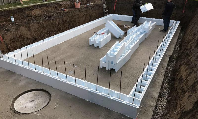 Korištenje stiropornih blokova ubrzava proces gradnje