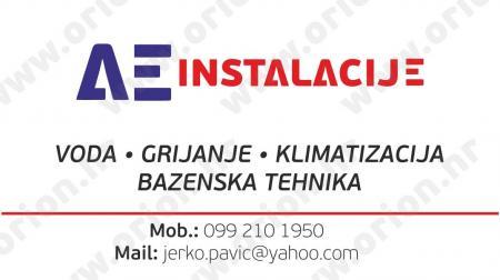AE-INSTALACIJE, vl. Jerko Pavić